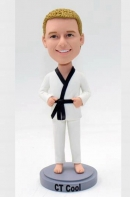 Custom taekwondo bobblehead for Kid