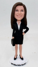 custom bobbleheads-Office lady