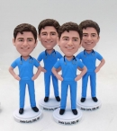 Male nurse bobblehead
