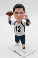 Custom bobbleheads - play rugby