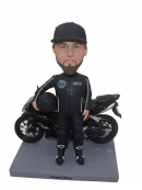 Motorcycle Racers Bobbleheads