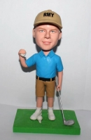 Custom golfer bobble head-best gift