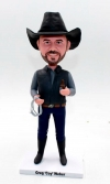 Custom bobblehead doll-Cowboy