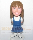 Custom bobblehead for cute girl