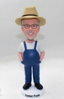 Country Farmer Bobbleheads