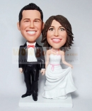 Custom Wedding Bobbleheads made from photos