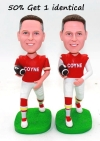 Personalized bobbleheads doll-Football player