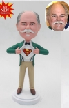 Custom bobblehead superman gift for boss