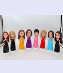 Personalized Bridesmaid bobblehead