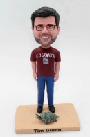 Custom bobblehead doll- with pet