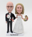 anniversary gifts wedding cake toppers