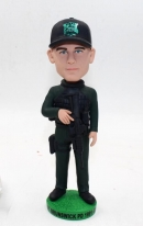 Custom officer bobbleheads