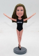 Custom bobbleheads-Gymnast