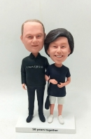 Personalized bobblehead for Anniversay