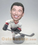 Ice hockey player bobbleheads