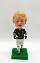 Custom bobblehdad with football
