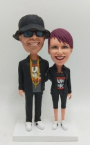 Anniversary Gift bobblehead for couple