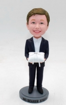 Ring bearer Bobbleheads doll