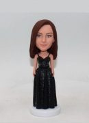 Custom bobble head gift for bridesmaid