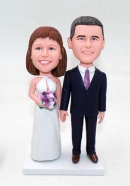 Custom Bobblehead Cake Toppers