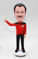 Star Trek custom bobbleheads