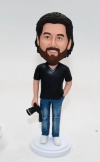 Custom Bobbleheads-Photographer