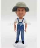 Custom country life bobbleheads