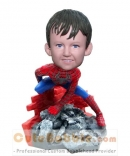 Spiderman boy custom bobblehead
