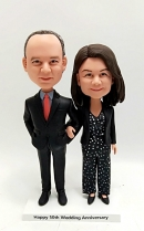 Custom bobble heads- gift for couple