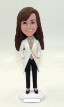 Custom Doctor bobblehead for female