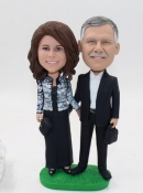 Custom bobbleheads- anniversary gift for couple