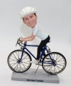 custom bobblehead dolls - cyclist