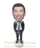 Casual Business man bobbleheads