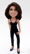 Custom bobblehead fashion woman dancer