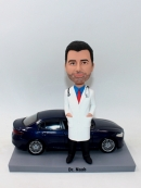 Custom bobbleheads- man with car