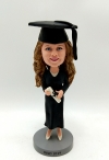 Graduation Ceremony Bobble head doll