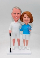 Custom Couple Bobbleheads