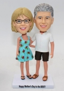 Custom bobbleheads for Couple