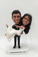 Custom bobbleheads -Indian couple