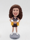 Custom cheer leader bobblehead