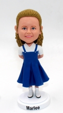 Custom bobblehead doll for cute girl