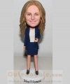 custom bobbleheads-business woman