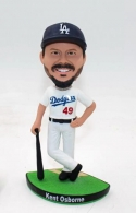 Dodgers-Custom baseball player bobblehead