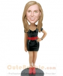 Custom bobble head gift for girl