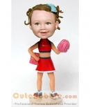 Cheer leader custom bobblehead