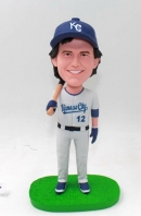 Custom bobbblehead-KANSAS CITY ROYALS baseball player