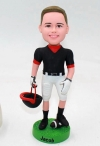 Personalized Football Player Bobbleheads