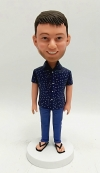 Personalized bobblehead for male