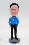Casual Man Bobblehead Doll