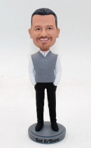 Custom bobblehead-Best Retirement Gift